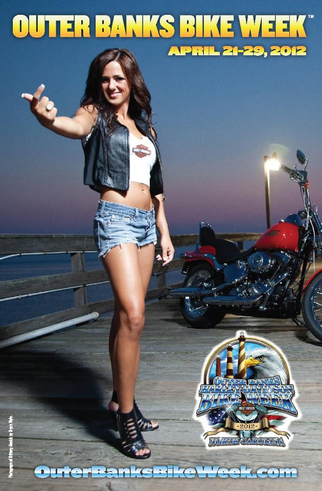 "Be sure to ""LIKE"" the official Bike Week Facebook page and read on"