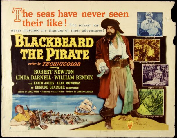 Blackbeard the Pirate (1952)