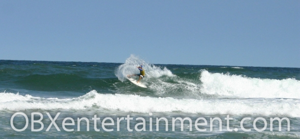Noah Snyder of Kitty Hawk, NC in action at the first Outer Banks Pro in 2005. (photo: Artz Music & Photography)