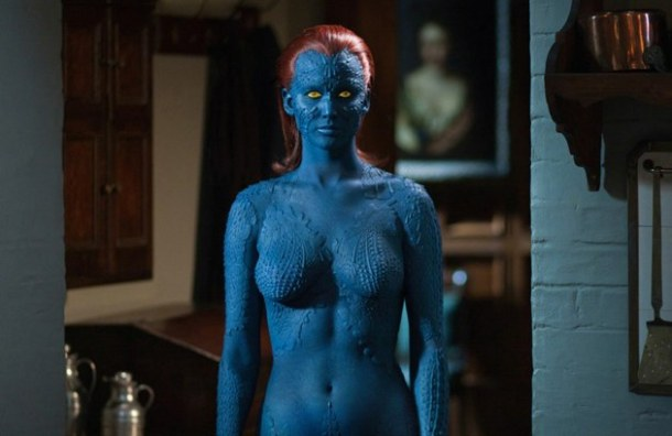 Jennifer Lawrence as Mystique in 2011's 'X-Men: First Class'