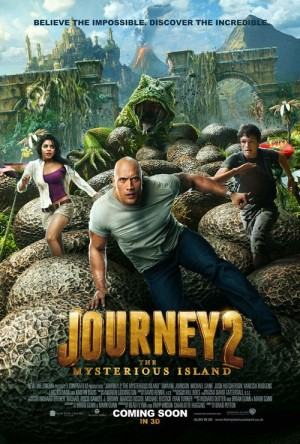 Journey 2: The Mysterious Island was filmed in North Carolina