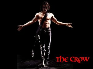 The Crow starring Brandon Lee