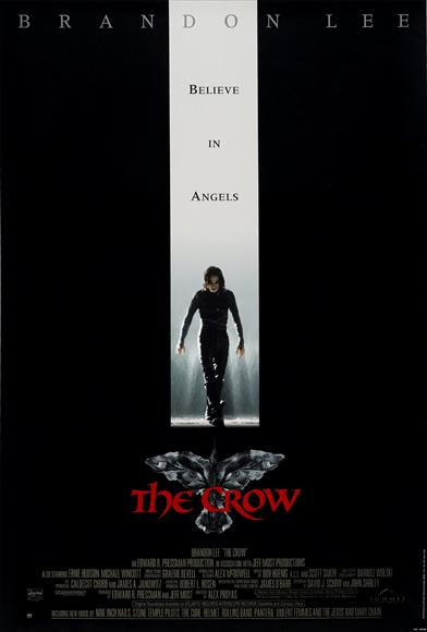 The Crow - filmed in Wilmington, NC