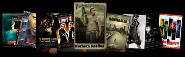 Norman Reedus - Blood on the Beach guest
