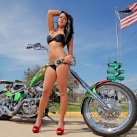 Outer Banks Bike Rally Roars into Manns Harbor