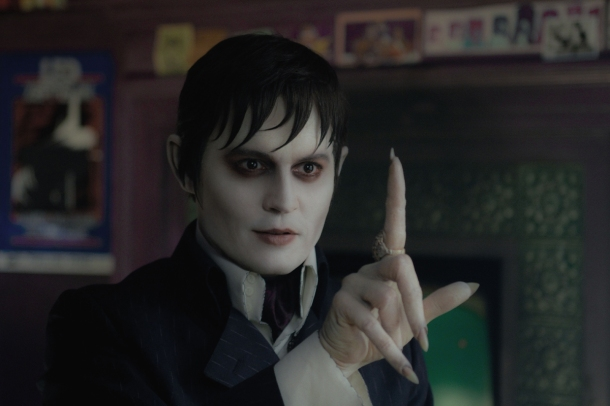 Johnny Depp stars in 'Dark Shadows' as vampire Barnabas Collins.