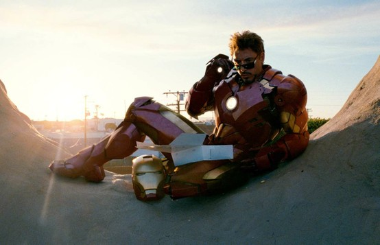 Robert Downey Jr. is 'Iron Man'.