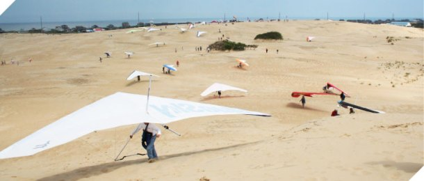 The Annual Hang Gliding Spectacular takes over Jockey's Ridge May 17-20.