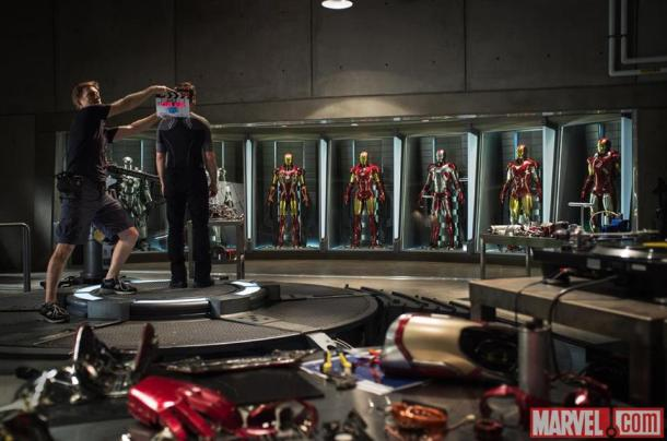 The first photo from the NC set of 'Iron Man 3'