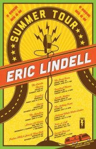 Eric Lindell Summer Tour
