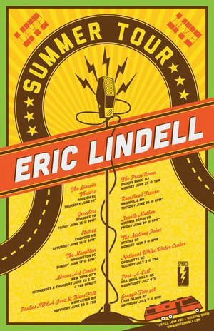 Eric Lindell Summer Tour