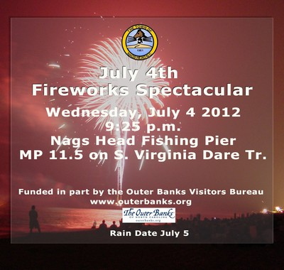 Nags Head July 4th Fireworks Spectacular