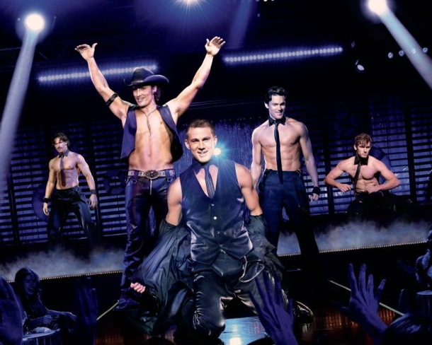 The cast of 'Magic Mike'.