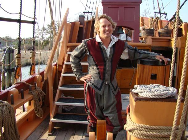 Elizabeth II Captain Robbie Putnam