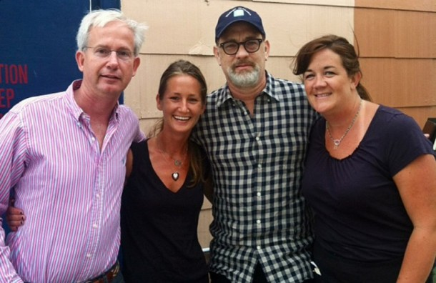 Tom Hanks at Charlie's Cafe in Norfolk, VA