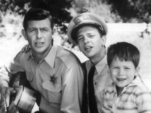 Andy Griffith, Don Knotts and Ron Howard in ''The Andy Griffith Show''