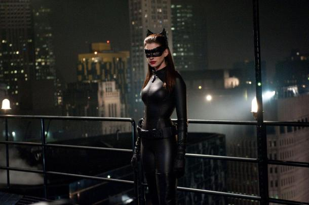 Anne Hathaway is Catwoman in 'The Dark Knight Rises',