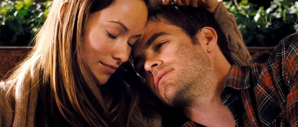 Olivia Wilde and Chris Pine star in 'People Like Us'.