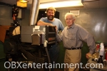 """H.A. """"Buddy"""" Creef III and H.A. Creef Jr. at The Pioneer Theatre on March 29, 2012."""