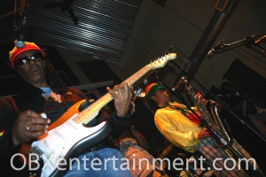 The Wailers on stage at the Outer Banks Brewing Station on July 6, 2005. (photo by Artz Music & Photography)