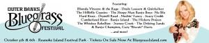 Outer Banks Bluegrass Festival - banner