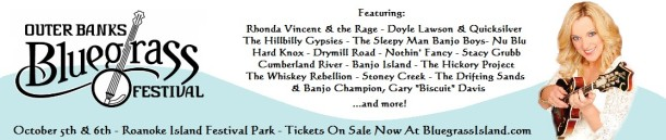 Outer Banks Bluegrass Festival - banner