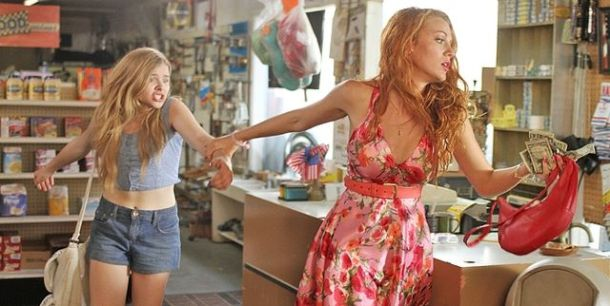 Chole Grace Moretz and Blake Lively are on the run in 'Hick'.