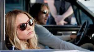 Kristen Bell and Dax Shepard star in 'Hit and Run'.