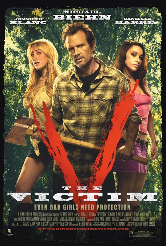 The Victim - official poster
