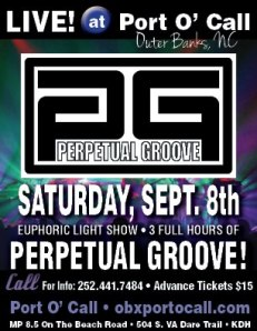 Perpetual Groove live at Port O' Call - Sept. 8