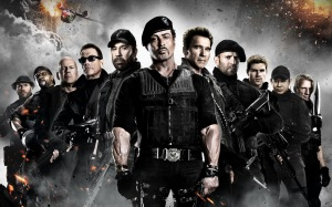 Sylvester Stallone leads an all-star ensemble of action icons in 'The Expendables 2'.