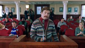 North Carolina native and real life resident Zach Galifianakis plays NC politician Marty Huggins in 'The Campaign'.