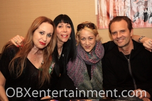 Michael Biehn, with wife Jennifer Blanc and friends, shot in Virginia Beach, VA on April 22, 2012. (photo: Artz Music & Photography)