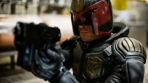 Karl Urban is the judge in 'Dredd 3D'.