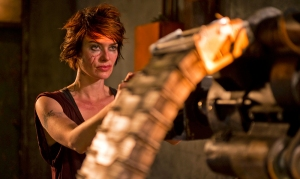 Lena Headey stars in 'Dredd'.