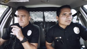 'End of Watch' stars Jake Gyllenhaal and Michael Pena.