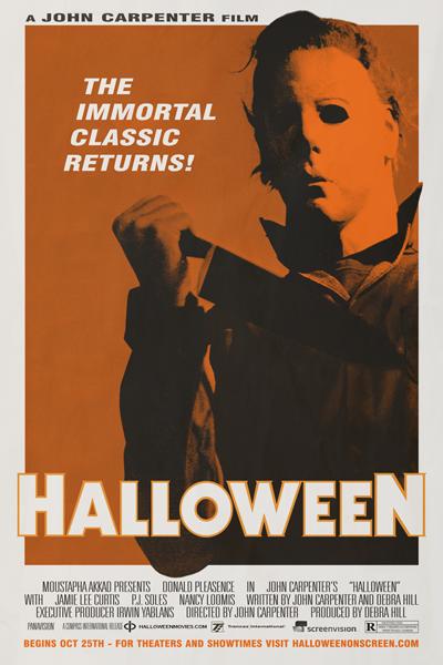 Halloween - 2012 re-release poster