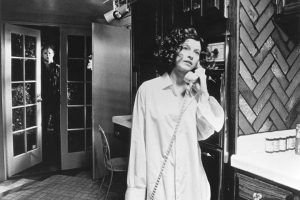 Michael Myers stalks Nancy Kyes in 'Halloween' (1978).