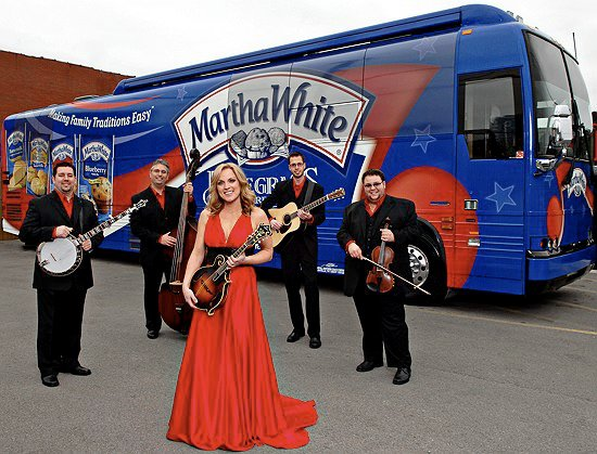 Rhonda Vincent and the Rage will be live on stage at Roanoke Island Festival Park on Saturday, Oct. 6, during the Outer Banks Bluegrass Festival.