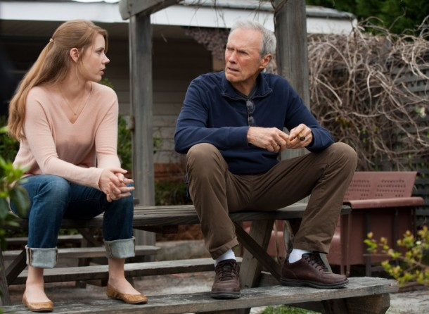 Amy Adams and Clint Eastwood star in 'Trouble with the Curve'.
