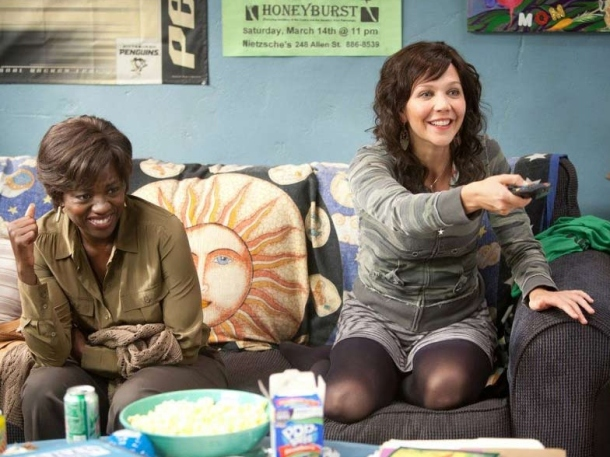 Viola Davis and Maggie Gyllenhaal star in 'Wont Back Down'.