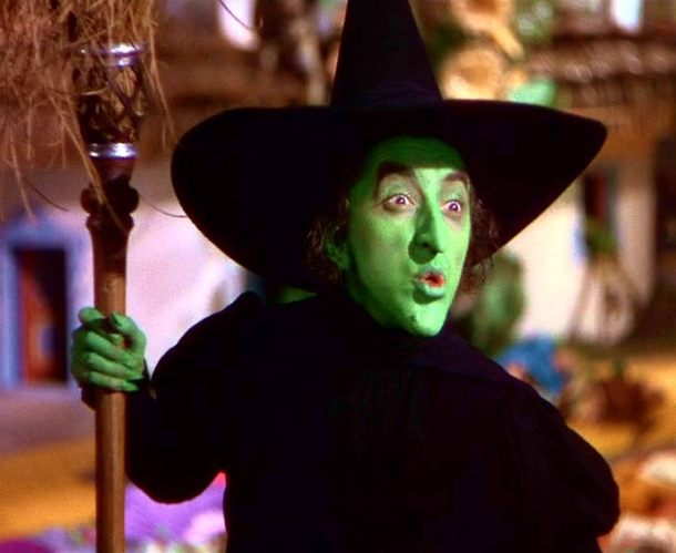 Margaret Hamilton's Wicked Witch of the West in 'The Wizard of Oz' is one of the all-time greatest villains in movie history.