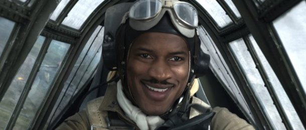 Norfolk, VA native Nate Parker starred in 'Red Tails', from producer George Lucas.