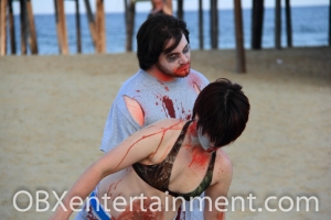 OBX HorrorFest Zombie Commercial Shoot 103 (photo: Artz Music & Photography)
