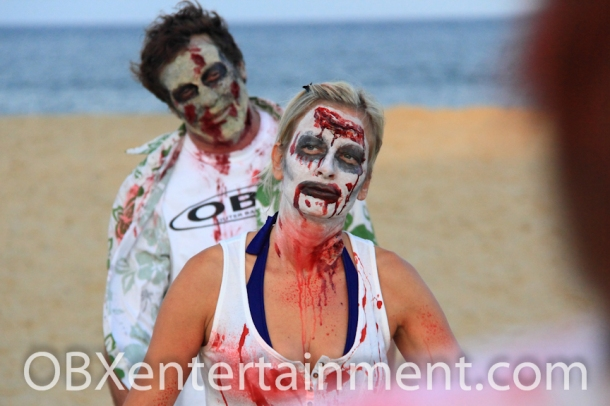 OBX HorrorFest Zombie Commercial Shoot - 104 (photo: Artz Music & Photography)