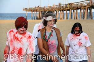 OBX HorrorFest Zombie Commercial Shoot 121 (photo: Artz Music & Photography)
