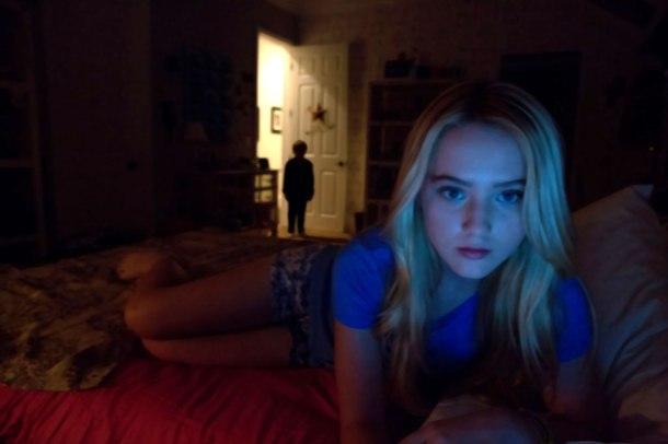 Kathryn Newton stars in 'Paranormal Activity 4'.