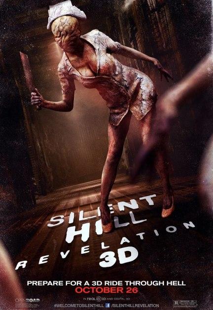 Silent Hill: Revelation 3D - poster