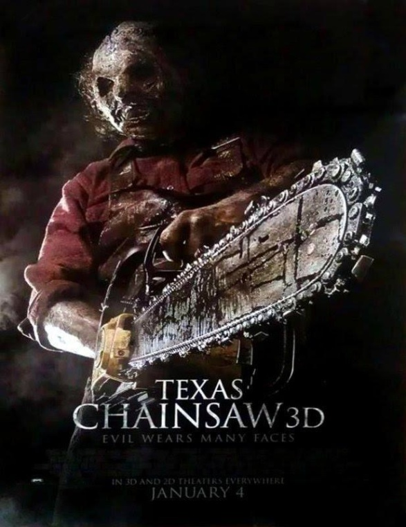 Texas Chainsaw 3D - poster 3