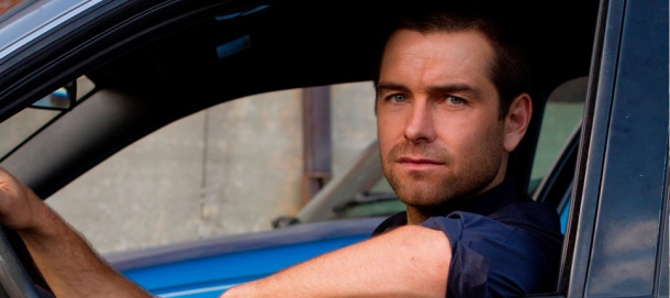 Antony Starr is on the run in Cinemax's 'Banshee', filmed in Charlotte, NC.